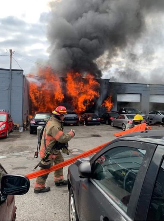 Fire Reported on Philadelphia Road
